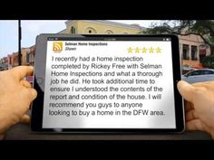 Selman Home Inspection Quality & Service For Dallas Fort Worth