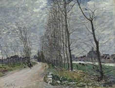 Alfred Sisley View of Moret-sur-Loing - The Largest Art reproductions Center In Our website. Low Wholesale Prices Great Pricing Quality Hand paintings for saleAlfred Sisley Impressionist Landscape, Post Impressionism, Landscape Paintings, Landscapes, Landscape Art, Monet, Russian Painting, Great Paintings, Oil Paintings