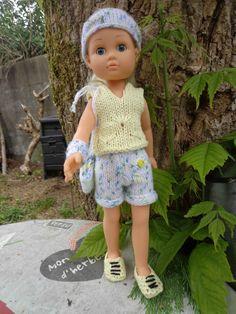 Tenue de sport pour poupées les chéries ou compatibles de 30 à 35 cm