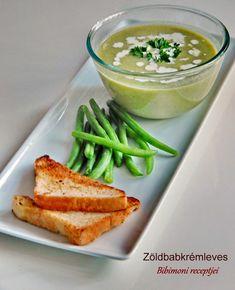 Zöldbabkrémleves   Bibimoni Receptjei Pudding, Desserts, Food, Tailgate Desserts, Deserts, Custard Pudding, Essen, Puddings, Postres