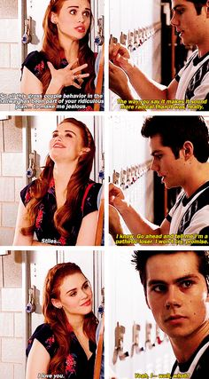 Stydia - awww!!! this needs to happen!!