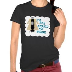 Because the world needs more silly t-shirt designs about flash drives.