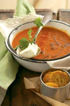 Vegetarian: Aromatic vegetable soup