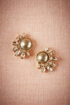 So ridiculously beautiful. Growing up, I always wanted white pearls. But now I love nothing more than grey and brown pearls. Pearl Grey Studs