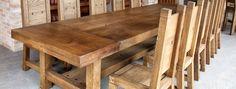 Столярная мастерская Михаила Романова | Воскресенское: дубовый стол и стулья