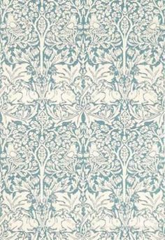 William Morris Brer Rabbit Tapet