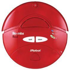 iRobot Roomba Intelligent Floorvac Robotic Vacuum, Red iRobot http://www.amazon.com/dp/B00022HYIM/ref=cm_sw_r_pi_dp_YVLAvb17GN9PP