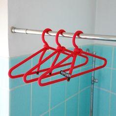 PEPPERMINT PRODUCTS 3x Kleiderbügel aus Seil