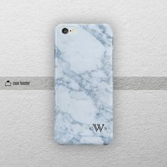 Personalize name case on marble pattern. The color of marble is bluish-gray.   Please check the additional product images for available customization