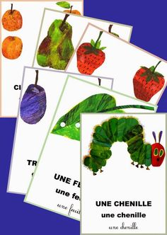 another great website full of activities for - LA CHENILLE QUI FAIT DES TROUS