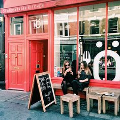 My favourite new place ever - Scandinavian Kitchen London (from instagram @sascha_osullivan)