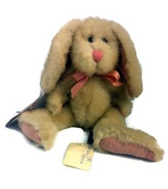 """Boyds Bears Eloise R. Hare 8.5"""" Rabbit Bunny Retired Jointed 5230-10 #AllOccasion"""
