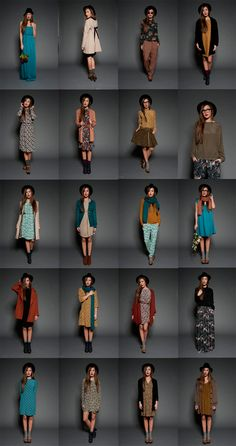 by sophie b. léco-design à la française: INSPO Fall Winter 12/13 - Look book Attic and Barn