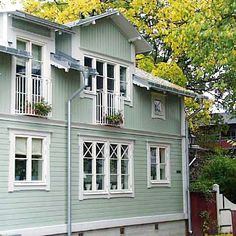This Old House, My House, Facade Architecture, Victorian Homes, Old Houses, Exterior Design, Balcony, Brick, Pergola