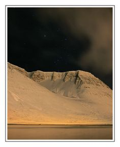 Cold Winter Night, Isafjordhur, Iceland Copyright: Joachim Schmidt