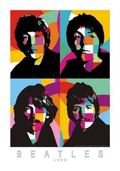 Pop Art | Lobo | Beatles by Lobo - Pop Art, via Flickr