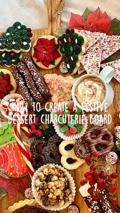 How to create a charcuterie board no matter the occasion. These simple steps will help you. #charcuterieboard #christmas #hostingchristmas #desserts #holidaydessert #christmasdesserts #hostingagathering #merzelifestyle To find more like this go to @merzelifestyle