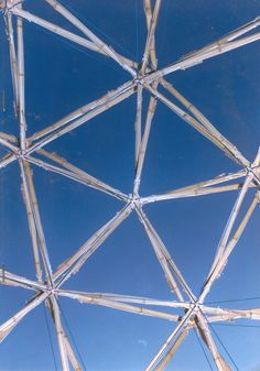 Tensegrity Geodesic Dome by LILD - PUC-Rio Laboratory for Investigation in Living Design at Coroflot.com