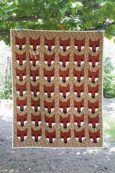 Fancy Fox quilt by Julie Williams
