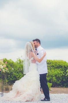Outdoor Charleston Wedding Ceremony #WildDunesWeddings wilddunesweddings.com