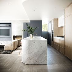 Home Decor Kitchen, Kitchen Interior, Timber Stair, Timber Ceiling, Mim Design, Timber Panelling, Interior Desing, Kitchen Benches, Elegant Kitchens