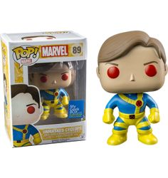 "<script><!--dynamicgoogletags.update();//--></script><p>Today we get a look at the My Geek Box ""European Exclusive"" Pop! Vinyl… Unmasked Cyclops! Did not subscribe to the most recent My Geek Box? You are in luck. You can pre-order him now at the Australian retailer Popcultcha, and he will be a Hot Topic exclusive here in …</p>"