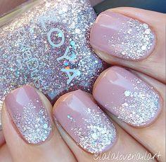 Zoya nail polish is so great and safe for you! Zoya nail polish is so great and safe for you! Zoya nail polish is so great and safe for you! Pretty Nails, Cute Nails, Hair And Nails, My Nails, Pink Nails, Winter Wedding Nails, Hair Wedding, Wedding Nails For Bride Natural, Wedding Makeup
