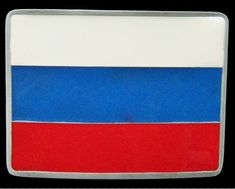 Russia Soviet USSR Moscow Russian New Flag Belt Buckle #russia #RUSSIAN #RUSSIAFLAG #russiaflagbuckle #russiabeltbuckle #russiabuckle #russianbeltbuckle #flagbuckles #beltbuckle