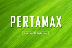 Pertamax Font by Tosca Digital on @Graphicsauthor