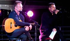 Brad Pitt rocks the stage with Sting at star-studded benefit in LA and more of this week's celebrity candids