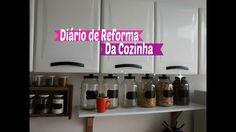 Diário de Reforma da Cozinha Parte 1 | Carla Oliveira