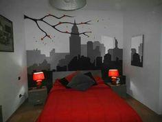 Sky Line new york disegni su parete