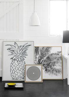 Le tropical minimaliste, décoration tropicale