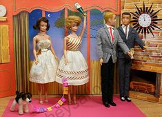 Barbie and Ken's New Year's Eve Party at the 1963 Dream House by Hey Sailor Greetings