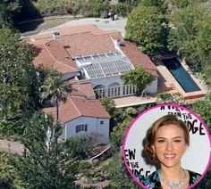 Scarlet, Celebrity Mansions, Celebrity Houses, Scarlett Johansson, Dream Mansion, Castle House, Million Dollar Homes, Hollywood, Celebs, Celebrities Homes