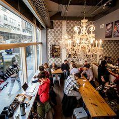 99 Awesome Small Coffee Shop Interior Design (25)