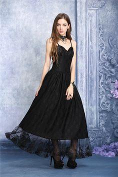 Longue Robe Gothique Romantique DARK IN LOVE