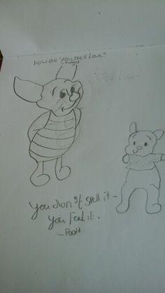 Winnie the pooh and pidget