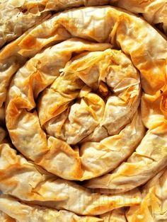 Tikvenik - traditional Bulgarian sweet pumpkin pastry, the dessert for Christmas Eve dinner for the Bulgarians.