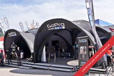 X-GLOO Event Tent for GoPro.  #xgloo  #GoPro #eventtents