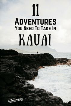 In this post, we're sharing our favorite things to do in Kauai – all inclusive with gorgeous beaches, stunning vistas, and breathtaking waterfalls! This post has everything you need to have the adventure of a lifetime in Hawaii! Kauai Vacation, Honeymoon Vacations, Hawaii Honeymoon, Vacation Destinations, Vacation Spots, Italy Vacation, Holiday Destinations, Vacation Ideas, Hawaii Resorts