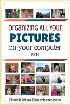 Get some tips and tricks for organizing your digital photos in this series over at Humble in a Heartbeat. The first step is to get everything organized by date on your hard drive. CharleeAnne shows…