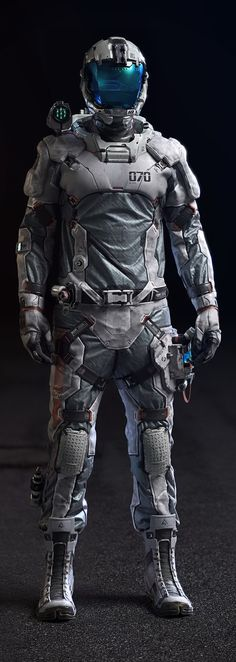 Col. Rigel (Lightweight EVA suit) Full Suit