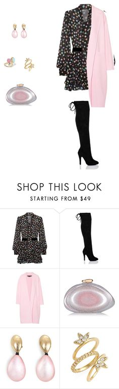 """""""Throw&go dress"""" by sebolita ❤ liked on Polyvore featuring Marc Jacobs, SpyLoveBuy, Rochas, Benedetta Bruzziches, Monies, Luv Aj, Ippolita, contestentry, polyvorecontest and waystowear"""
