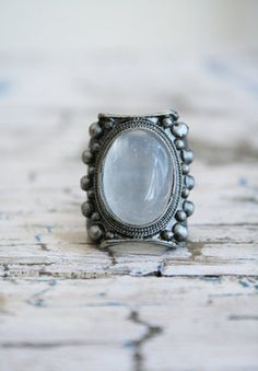 Low Luv Moonstone Ring