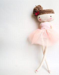 bailarina muñeca de tela - lassandaliasdeana - Muñecos