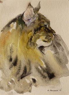 "Daily Paintworks - ""adopt70"" - Original Fine Art for Sale - © Katya Minkina"