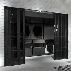 Sail sliding door by Rimadesio from Pure Interiors |