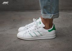 adidas Stan Smith W (Ftwr White / Ftwr White / Green)