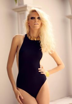 The Perfect One Piece Swim Suits For Your Body Type  This is beautiful - would like to be wearing something like this in Summer 2013